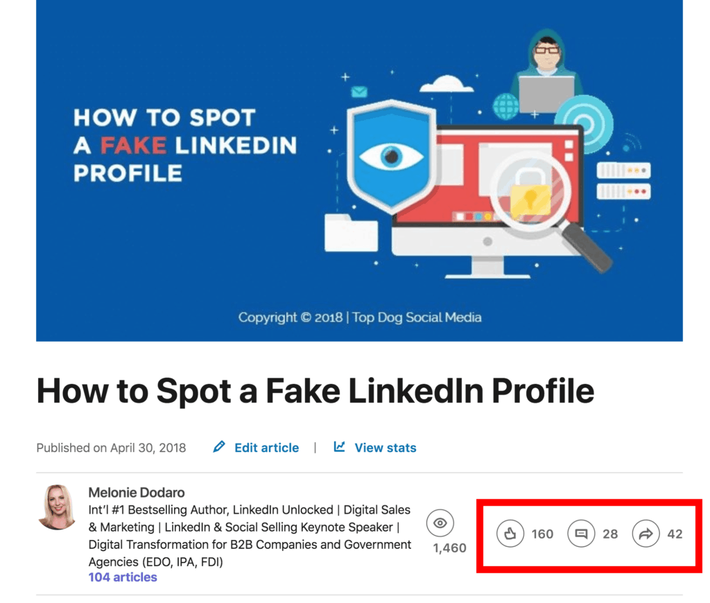 10 Reasons to Take Advantage of the LinkedIn Publishing Platform
